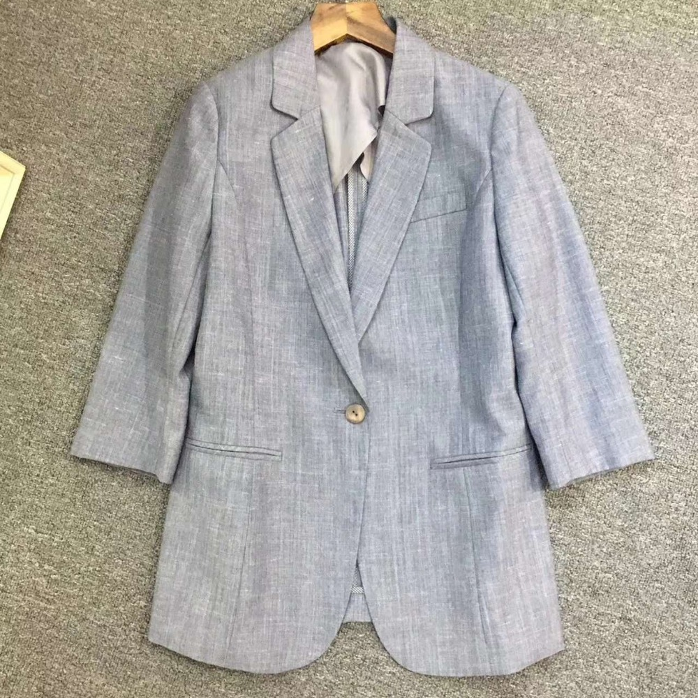 Women's 100%polyester casual suits
