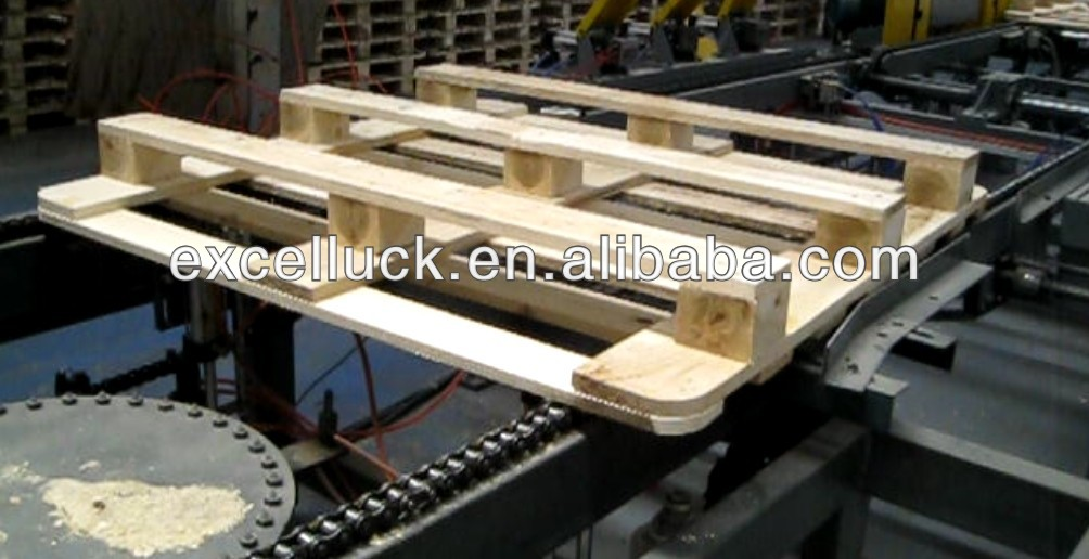 Full Automatic wooden pallet production line