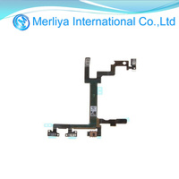 For Apple Iphone 5 5G Power Flex on/off Switch Volume Button flex cable original replacement
