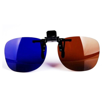 Hot Sale Clip On 3D Glasses Polarized Eye Lens Home 3D TV Cinema Movie Imax