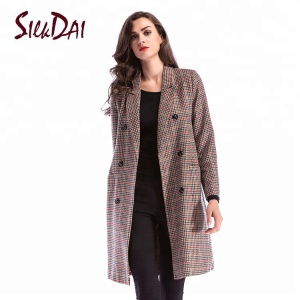 2018 Autumn fashion school Long Casual Women Coats