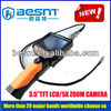 New Style Hot Sale High Definition Industrial Endoscope,Pipe & wall Inspection system With 3.5 TFT LCD Screen with 4 LED BS-GD04