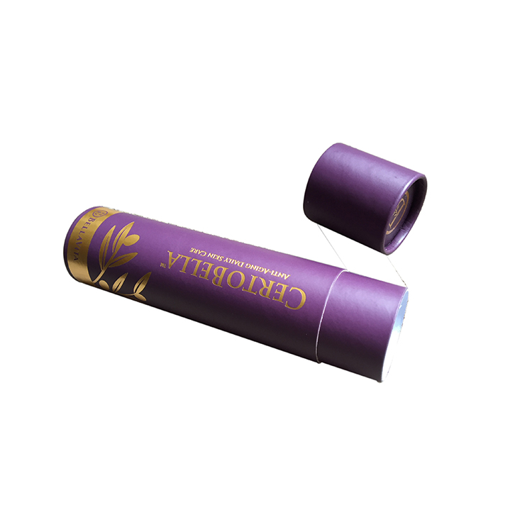 Paper Box Tube for Packaging of Cosmetic
