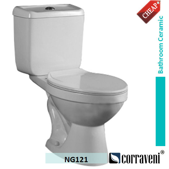 NG121 Modern Design toilet bowl price Ceramic WC bidet toilet for sale
