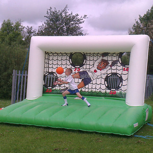 Hot Junior Inflatable Soccer Shootout Penalty Shoot Out Game