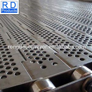 High Quality Metal plate stainless steel balanced conveyor belt