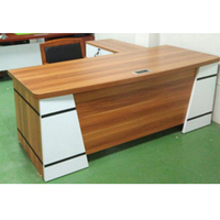Office Furniture L Shaped Wooden Executive Office Furniture Desk For Boss And Manager