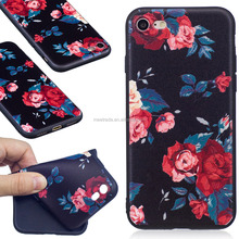 LEZI High Quality New Model Tpu slim Soft cell phone case for iphone 8 7 ,color printing with pattern phone case for iphone