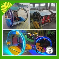 Thrilling Cheap Electric Car Beautiful Amusement Ride Leswing Car