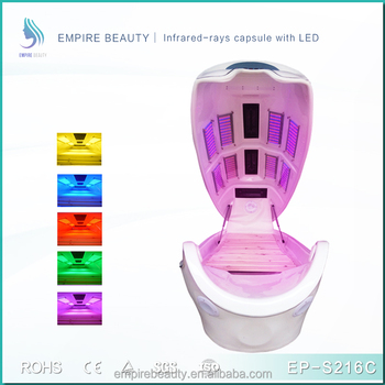 ... LED Light Spa Capsule Bed Skin Rejuvenation Weight Loss Capsule