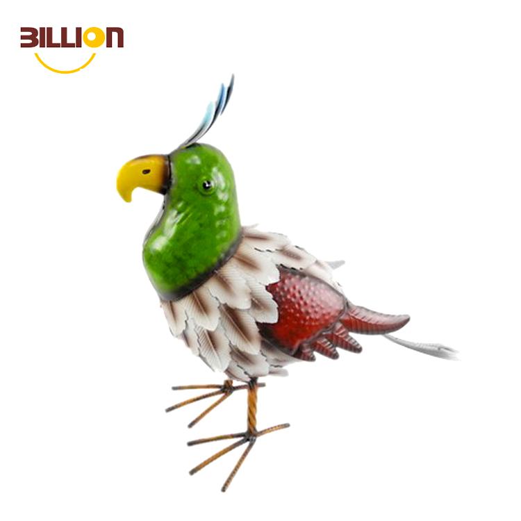Customized Metal Material Garden Decor Birds Cast Iron
