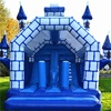 Newest Inflatable Bouncy Castles With Slide Durable Plato PVC Inflatable Bouncer Inflatable Jumping Castle For Sale
