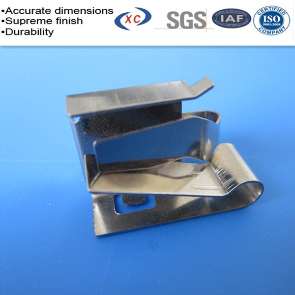 Custom Sheet Metal Spring Clip 304 Stainless Steel Spring ...
