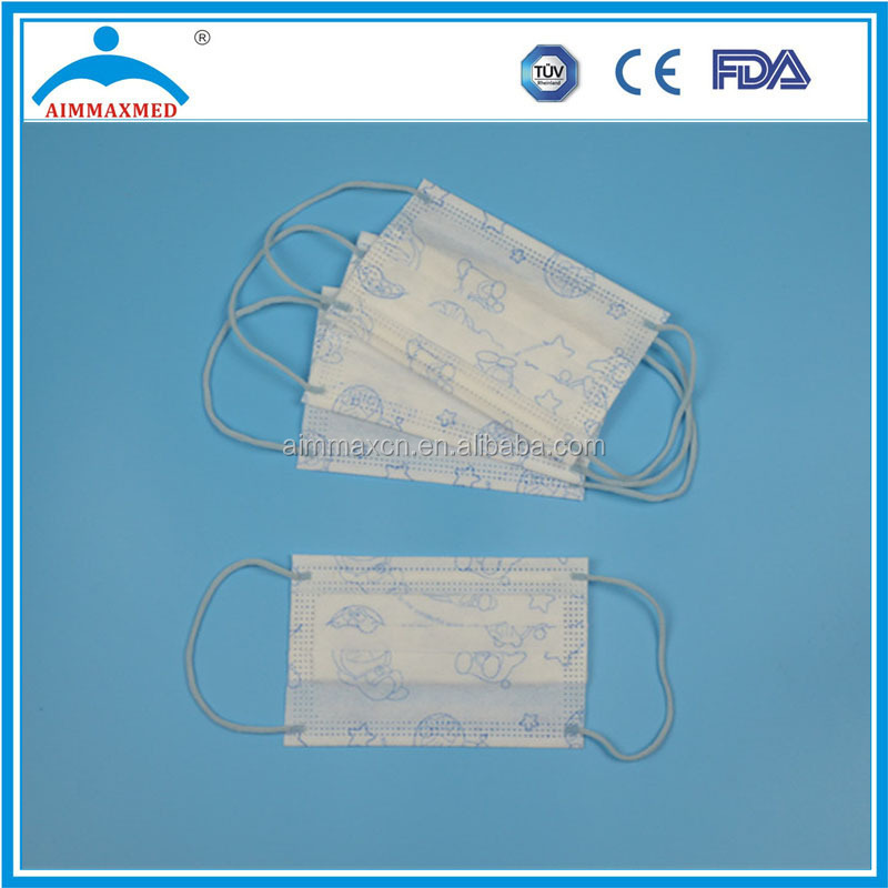 Four Layers Activated Carbon Dust Proof Medical Disposable Face ...