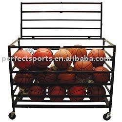LOCKABLE BALL STORAGE LOCKER