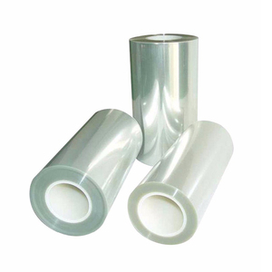 Rigid clear PET plastic film for thermoforming