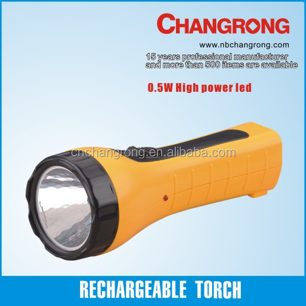 0.5W economic cool led flashlights torches outdoor