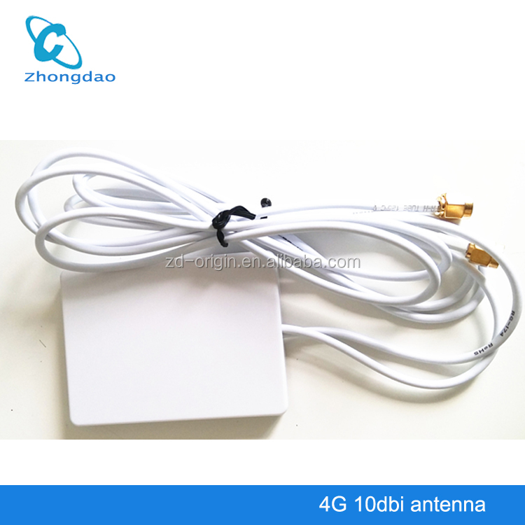 4G 3G 2.4G LTE Double SMA Antenna Signal Booster Amplifier for HUAWEI B593 E5172 B890 ZTE MF253 MF283 MF28D Router 23X55P