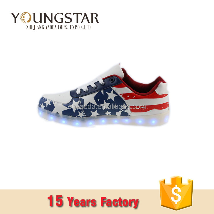Air Style Globle Selling Led Rock Sports Shoes
