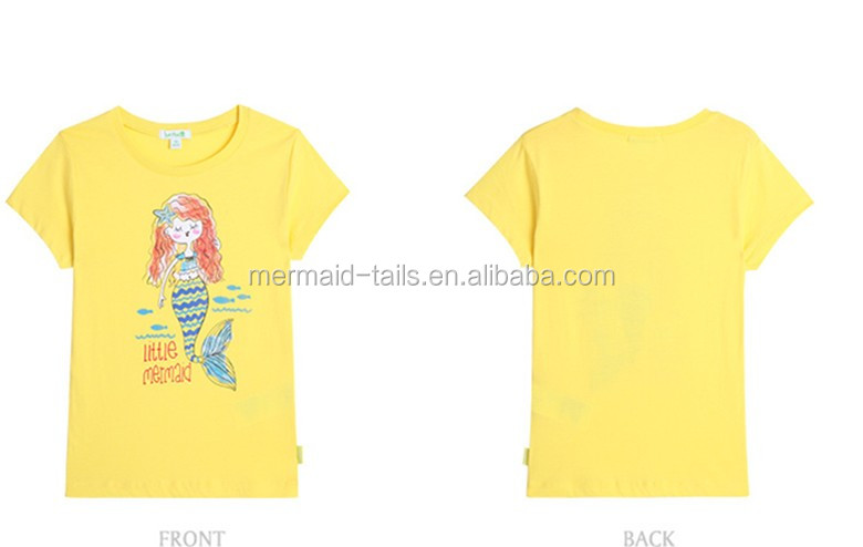 Product Pictures Grls Birthday Mermaid Shirt Girls Party T