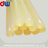 Dawei lightyellow hot melt glue sticks for screen printing