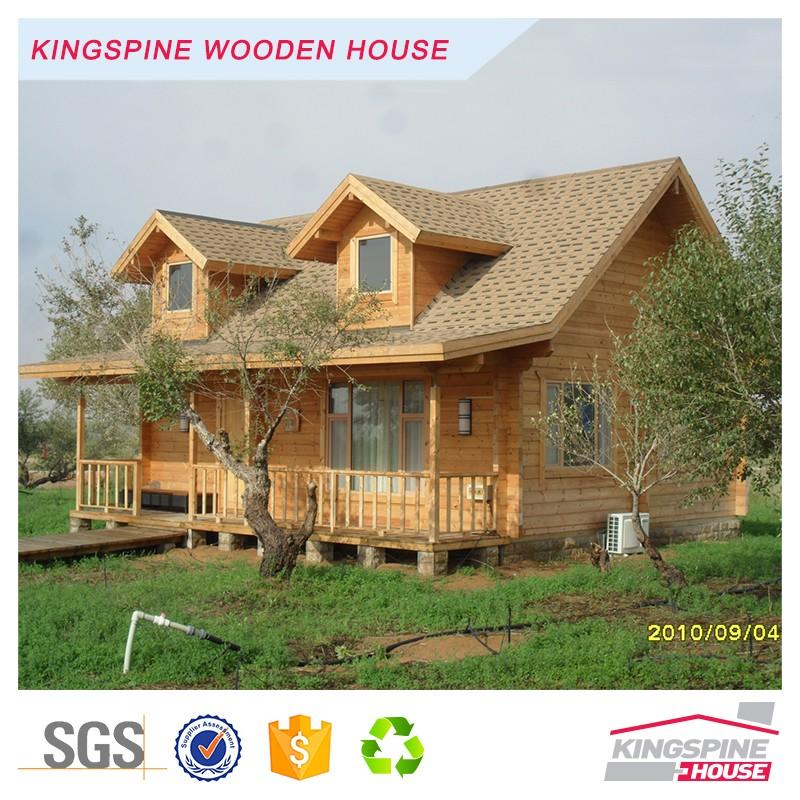 Prefab House Terrace Design Wood Log House Kpl 009 Buy