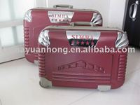 SIMBA ABS SUITCASE AND BEAUTY CASE BAG