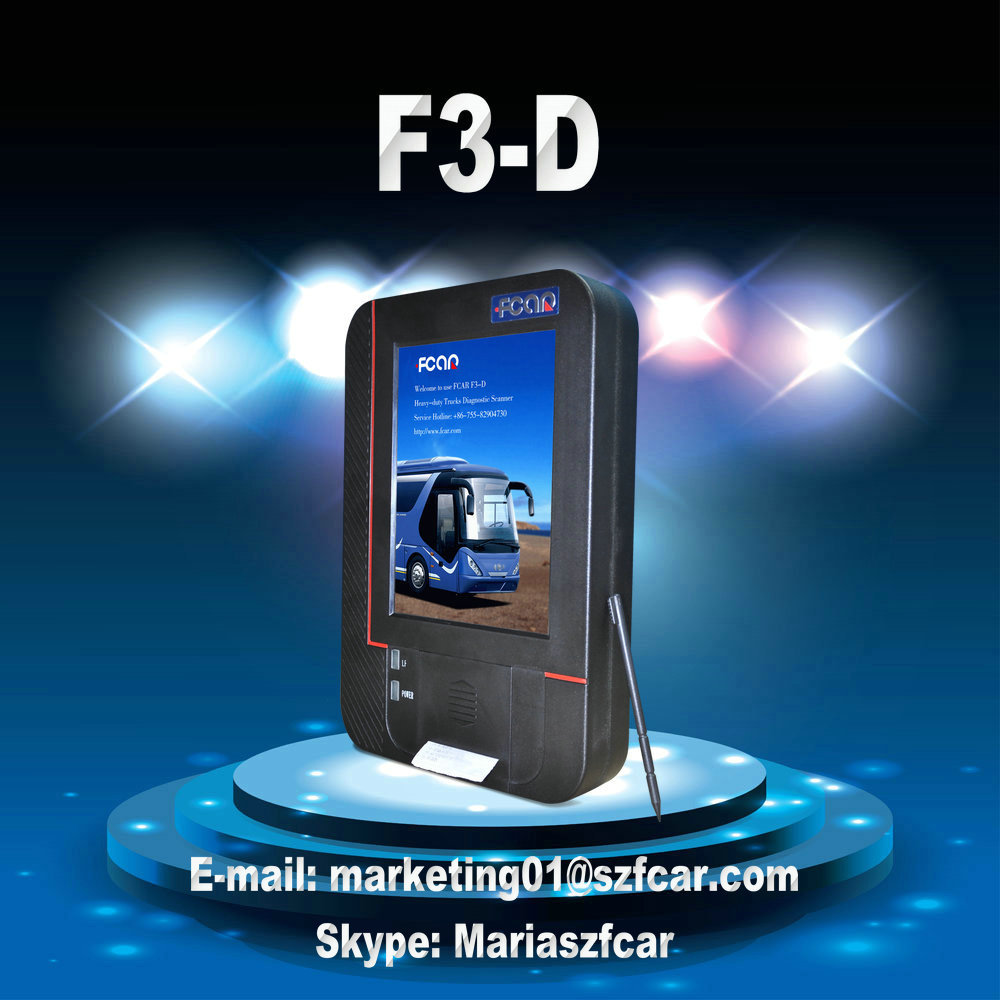 Factory Direct Fcar F3-D Auto Diagnostic Tools for Construction Machinery and Heavy Duty Trucks
