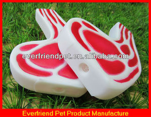 red squeaky pork for import pet animal products from china