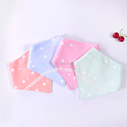 BC17300033 100% cotton, high quality and Triangle Newborn Baby and Infant Bibs