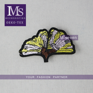 7*10cm custom clothing patch handmake flower paches for sale