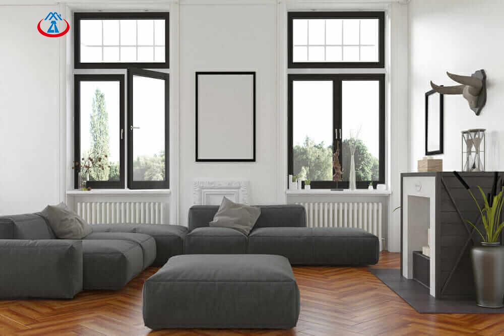 product-Zhongtai-Used Aluminum Frame Double Glazed Tempered Glass Inward Casement Window For House-i-1