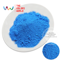 TCYG-619 Blue neon Colors Fluorescent Neon  Pigment Powder for Nail Polish&Painting&Printing 1 lot= 50g