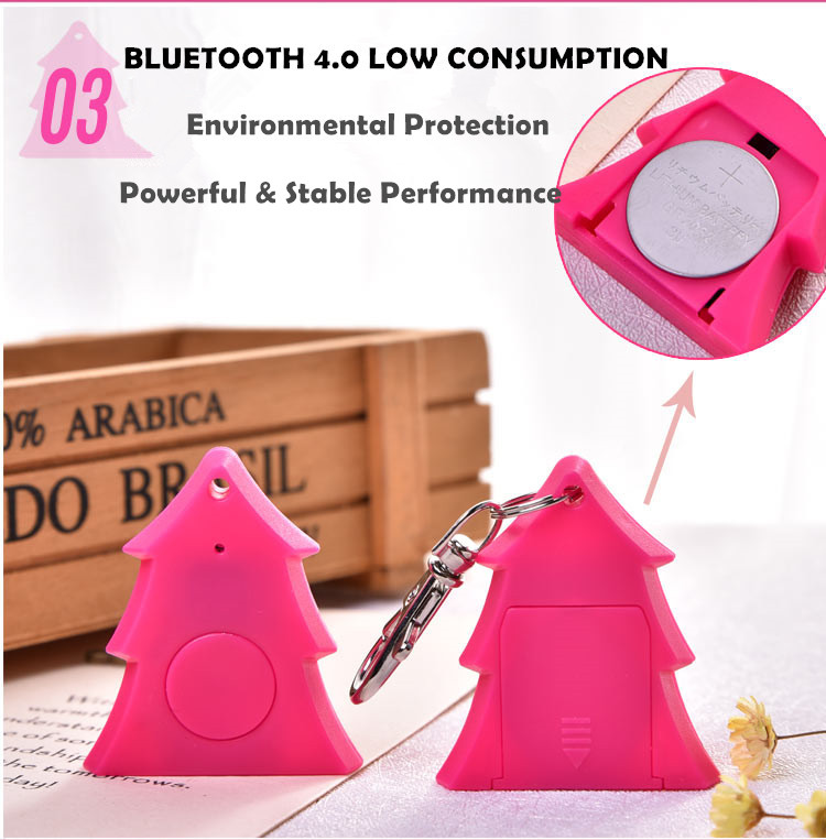 Smart Finder For Phone Child Wallet Key Pet GPS Locator Alarm Bluetooth Tracker