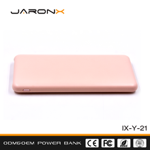 Best Quality CE custom logo ABS + PC Material 6000 mah promotion fashion power bank price in pakistan