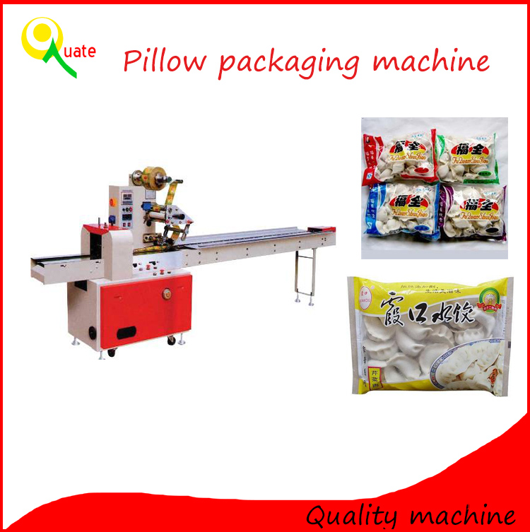 The best price of pillow bag packing machine for bread/pillow packaging machine price
