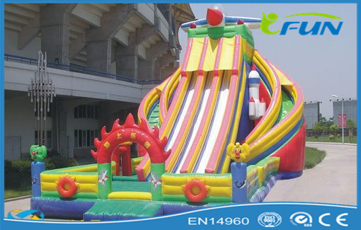 Hot sale best cheap popular inflatable Combo Castle inflatable slide with bouncer inflatable toy