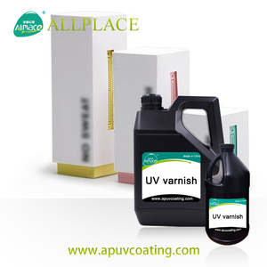 UV Soft Touch Spray Paint Paper Varnish / Paper Coating