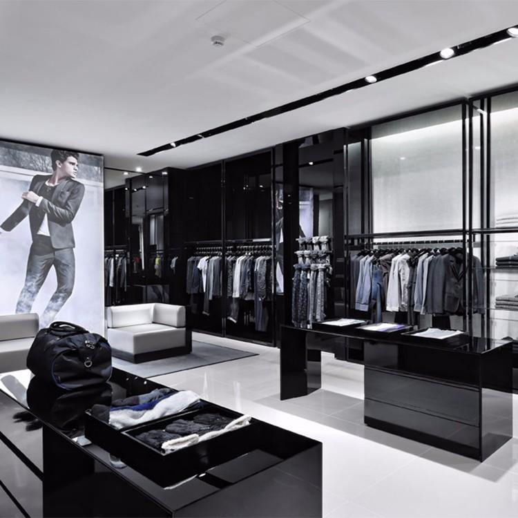 Retail garment shop interior design modern design cheap for New interior design products