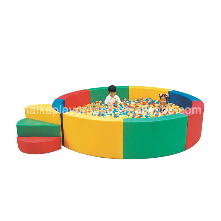 Kindergarten soft play sea ball pool children soft play toys indoor playground equipment soft play