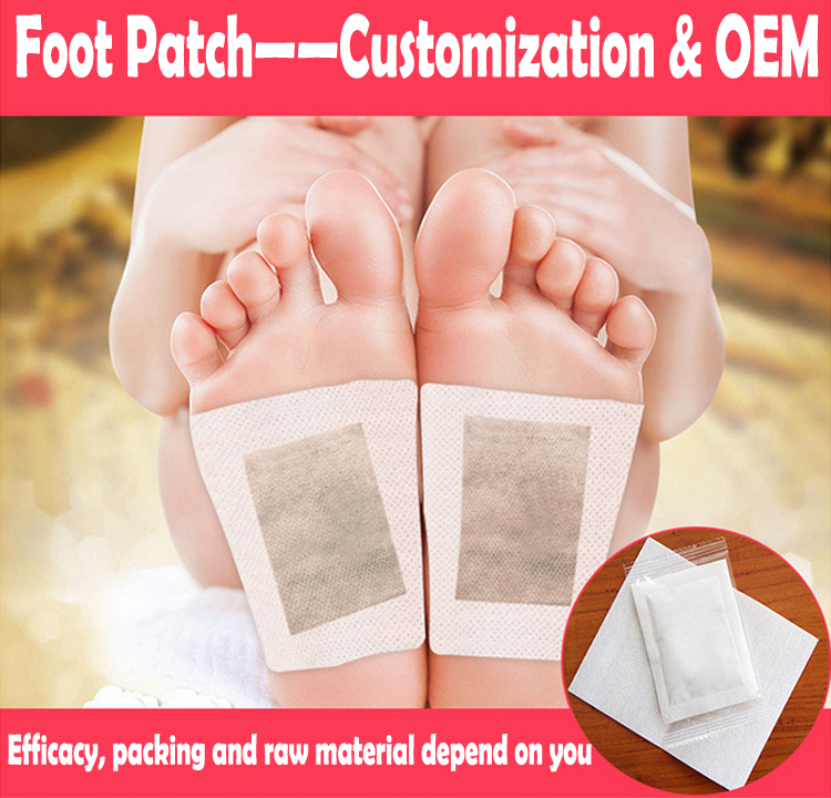 China suppliers new products OEM 100Pcs foot detox patch for Remove the Toxins and the Wastes in Your Body