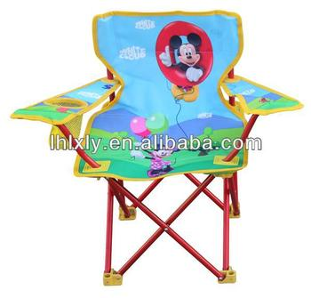 Childrens Kids Folding Camping Chair Mickey Mouse