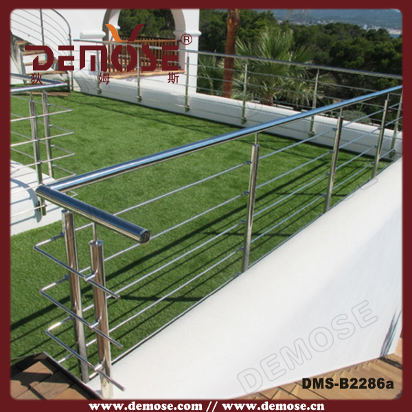 Stainless steel balustrade balcony stainless steel for Stainless steel balcony