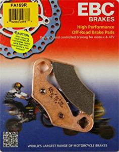 Rear Brake Pads Polaris Outlaw 450 500 525 06-10 Predator 500 03-07