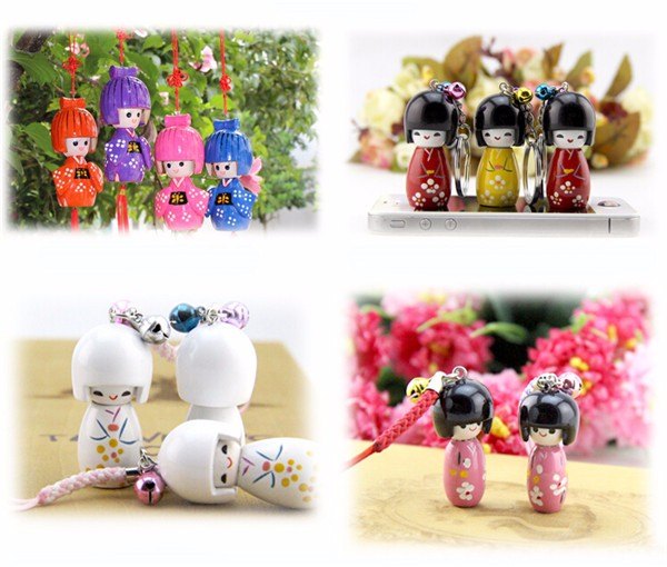 China Wholesale Japanese Wooden Craft Supplies Doll