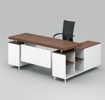 Foshan Moderne Buro Mobel Melamin Executive Buro Schreibtisch Hx
