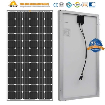 TUV Certificate Anti-PID 200 Watt Monocrystalline Solar Panel 25 years warranty