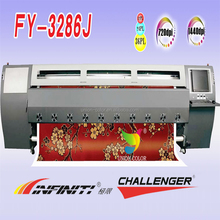infiniti/challenger eco solvent printer fy 3286j/3266j with spt 508gs