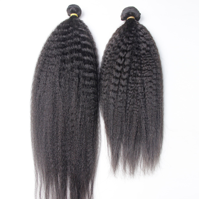 Raw Unprocessed Virgin Peruvian Weave Bundles 10&quot;-30&quot; Cuticle Aligned Kinky Straight Hair <strong>Human</strong>