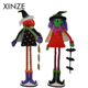 Long bead leg halloween party supplies Soft pumpkins Witch